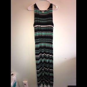 Sleeveless Long Summer Dress